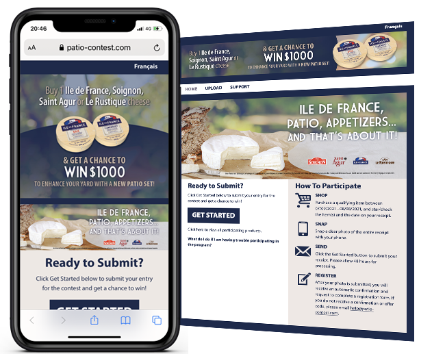 Agropur Dairy Cooperative French Cheese Contest web