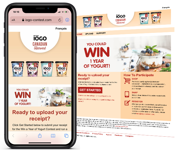 Agropur Snipp 365 - 3 - iogo back to school Contest web