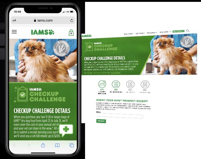 Barefoot Proximity IAMS Vet Rebate web