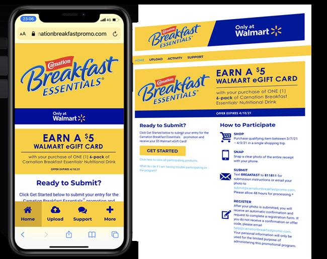 CBE Q1 Product Launch at Walmart web