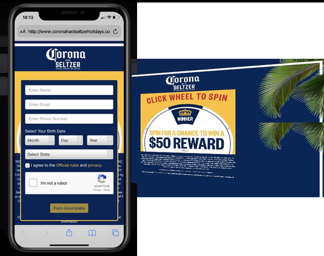 Constellation 365 Corona Seltzer Cooler Instant Win 2021 Walmart web