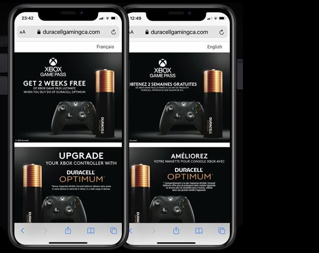 Duracell Xbox CA US web