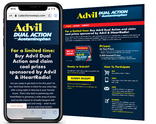 GSK Advil and Pain Scale Sweeps web