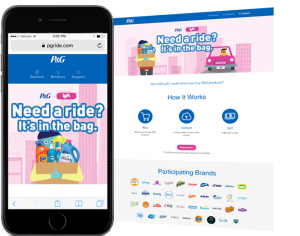 P&G Partnership with Lyft