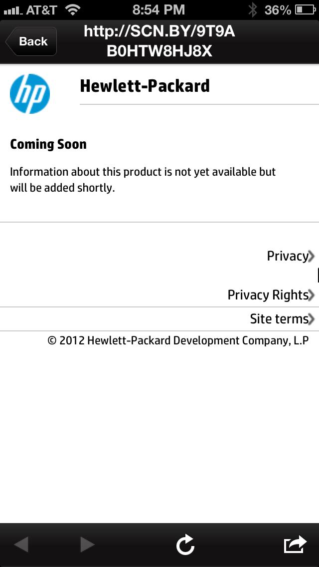 QRackd: HP Splash Page Blunder
