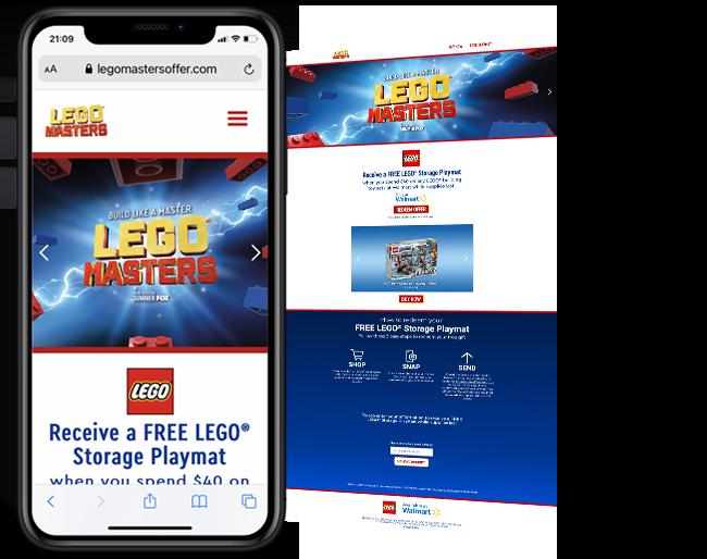 LEGO Walmart Gift With Purchase web