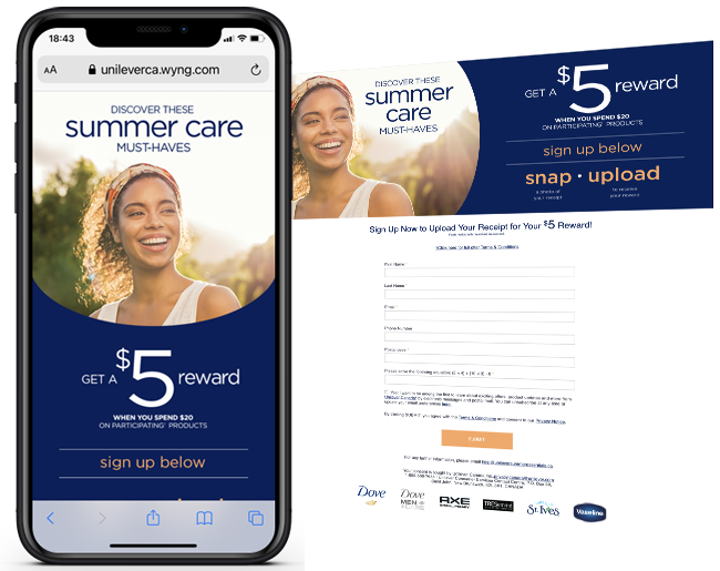 LPI Group Unilever CA Scale Summer Promotion web