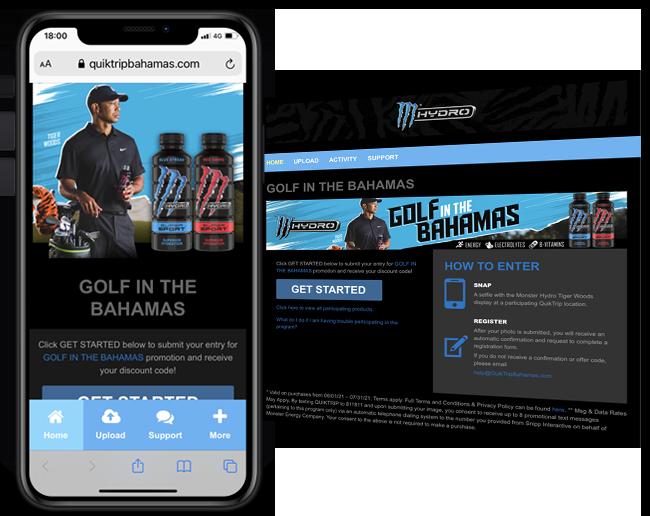 Monster 365 QuikTrip Bahamas Experience web