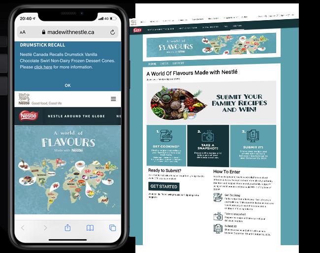 Nestle 365 - 4 - Recipe Contest web