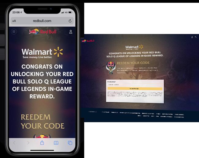 Red Bull 365 SoloQ Walmart web