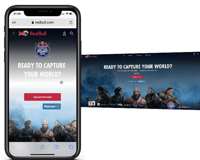 Red Bull Capture Point Widget web