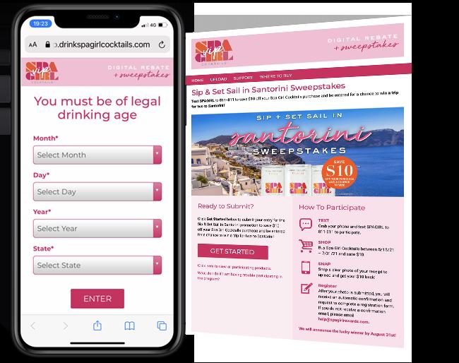 Spa Girl Cocktail Rebate 1 web