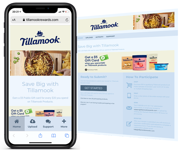 Tillamook Portfolio Publix Phase2 Refresh web