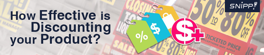 How Effective is Discounting your Product?