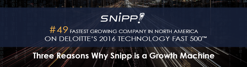 Three Reasons Why Snipp is a Growth Machine