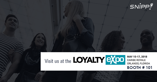 Loyalty Expo 2018 – See Snipp in Action!