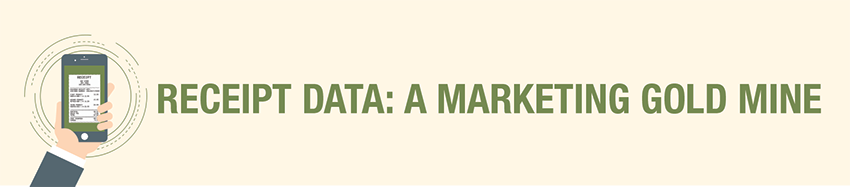 RECEIPT DATA: A MARKETING GOLD MINE