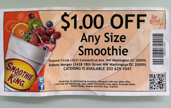 QRackd: Smoothie King