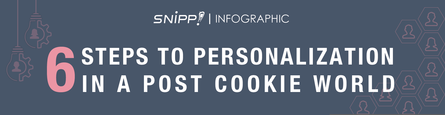 6 Steps to Personalization in a Post Cookie World [Infographic]